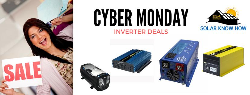 Cyber Monday inverter deals