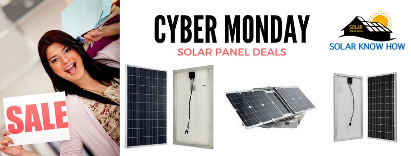 Cyber Monday Solar Panel Deals