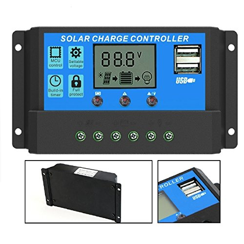 Best PWM solar charge controller