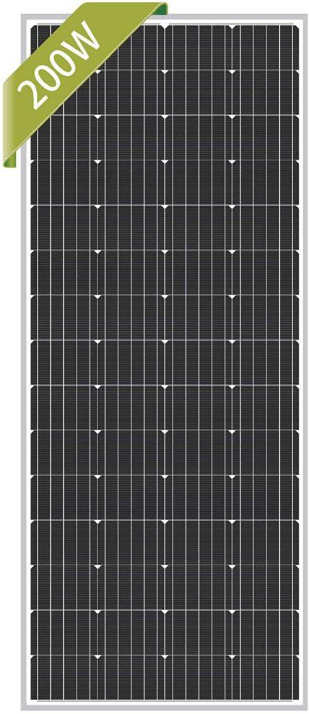 newpowa 200 watt solar panel