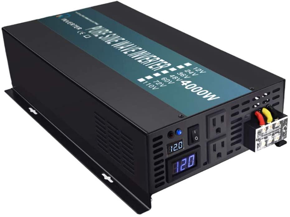 WZRELB 4000 watt inverter - Pure sine wave.