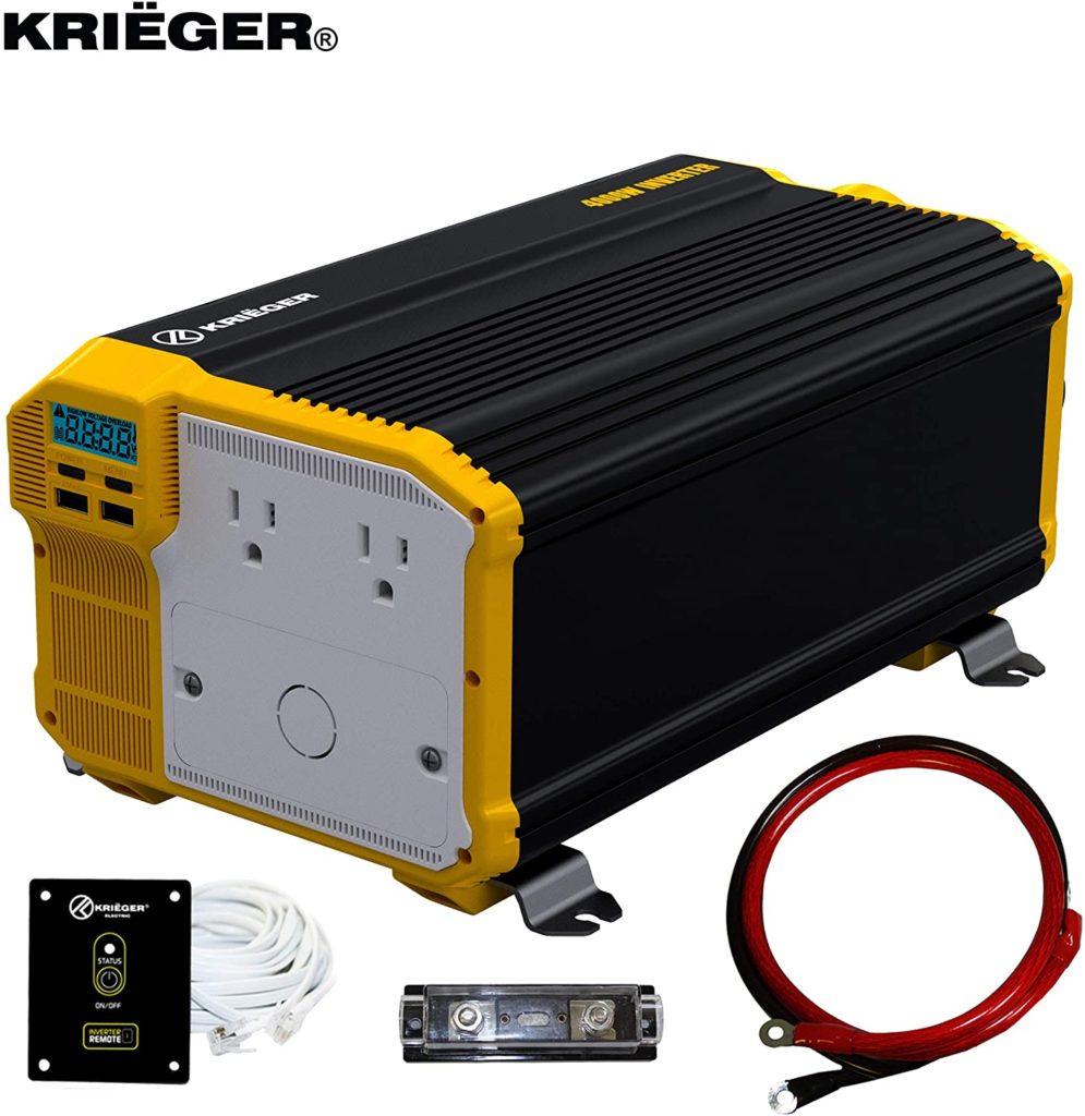 Krieger 4000 watt inverter