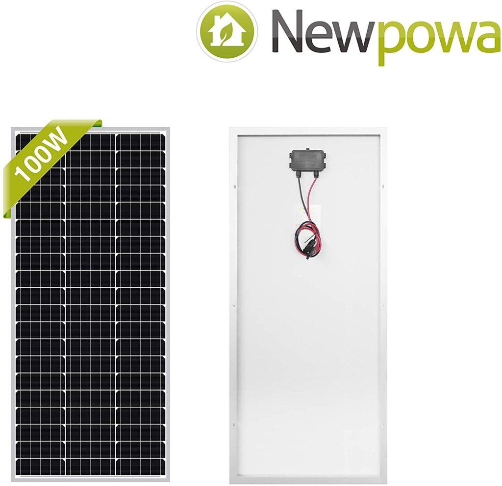 Newpowa solar power - 100 watts