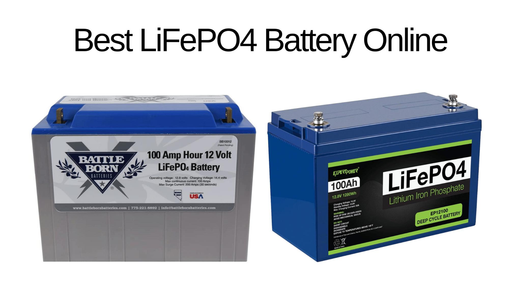 Best LiFePO4 Battery for Solar