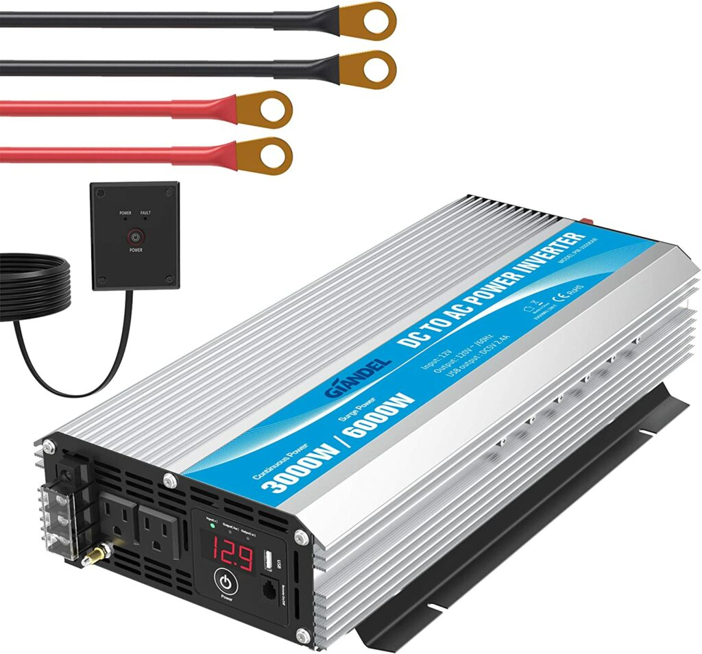 Giandel 3,000 Watt Inverter