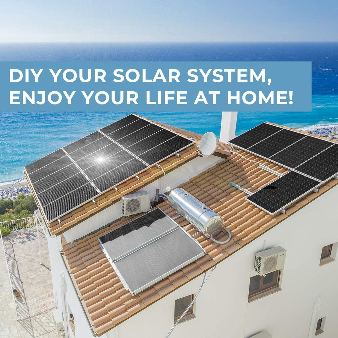 180 Watt solar panel by BourgeRV