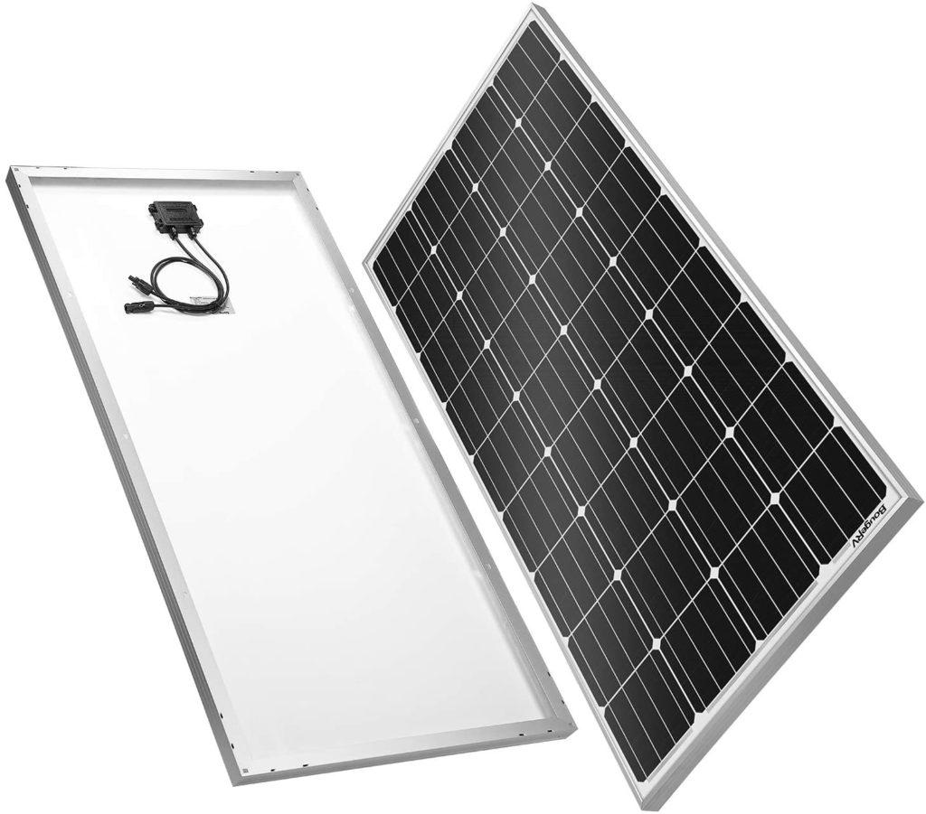 BougeRV 180 Watt solar panel