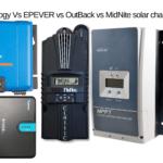 Victron vs Renogy Vs EPEVER vs OutBack vs MidNite solar charge controller