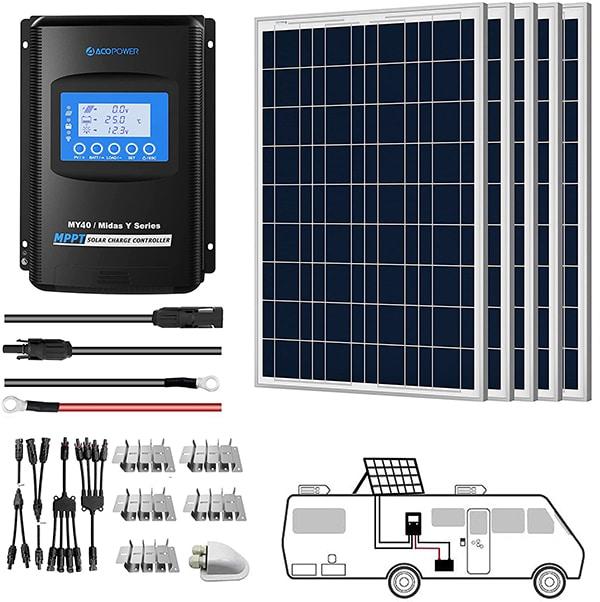 Acopower 500-watt solar panel kit on solar know how