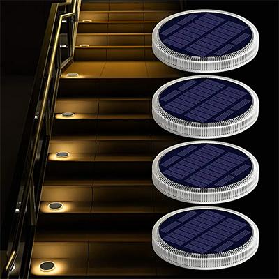Round Solar Step Lights