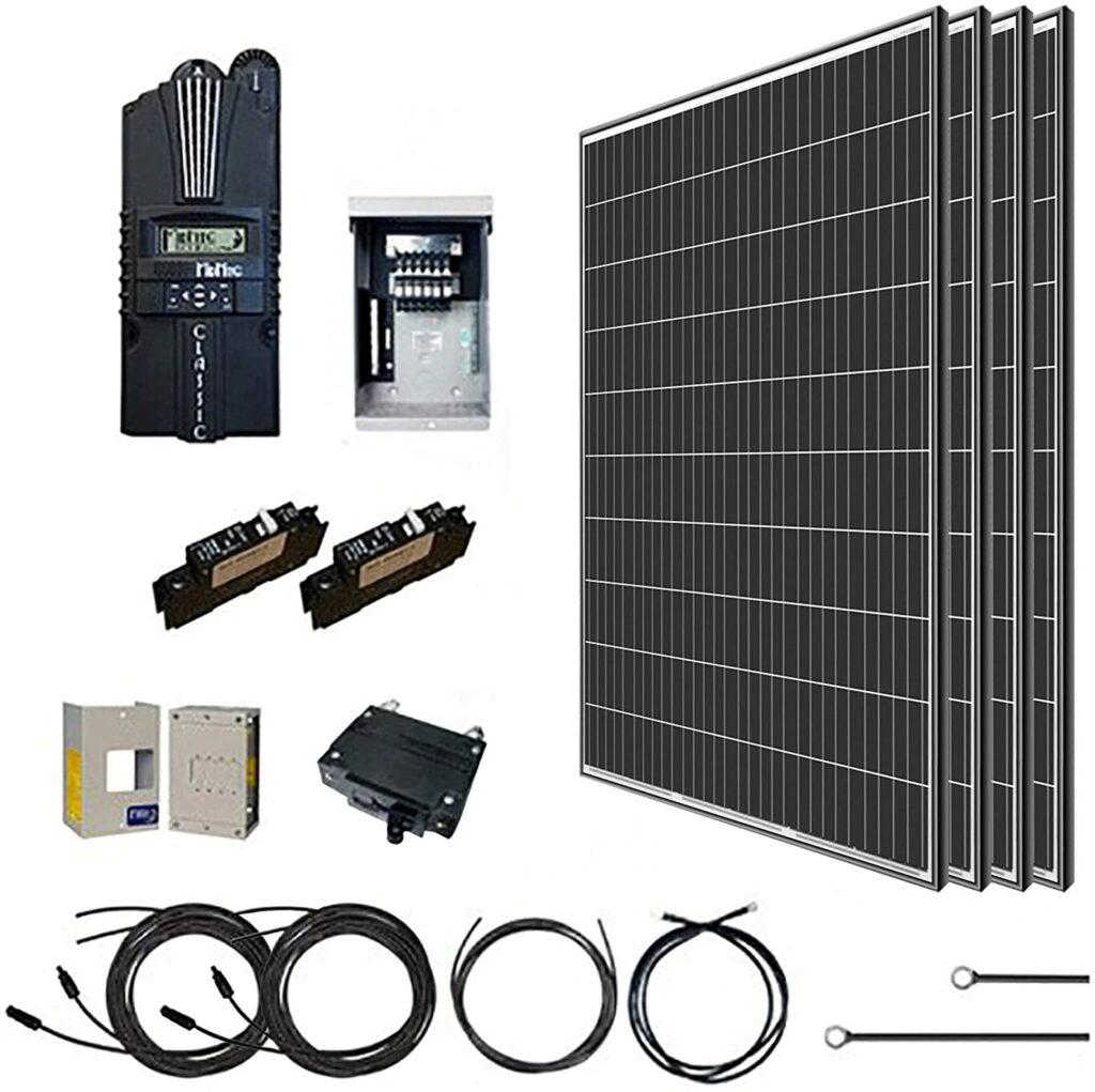 Renogy 1000-watt solar panel kit