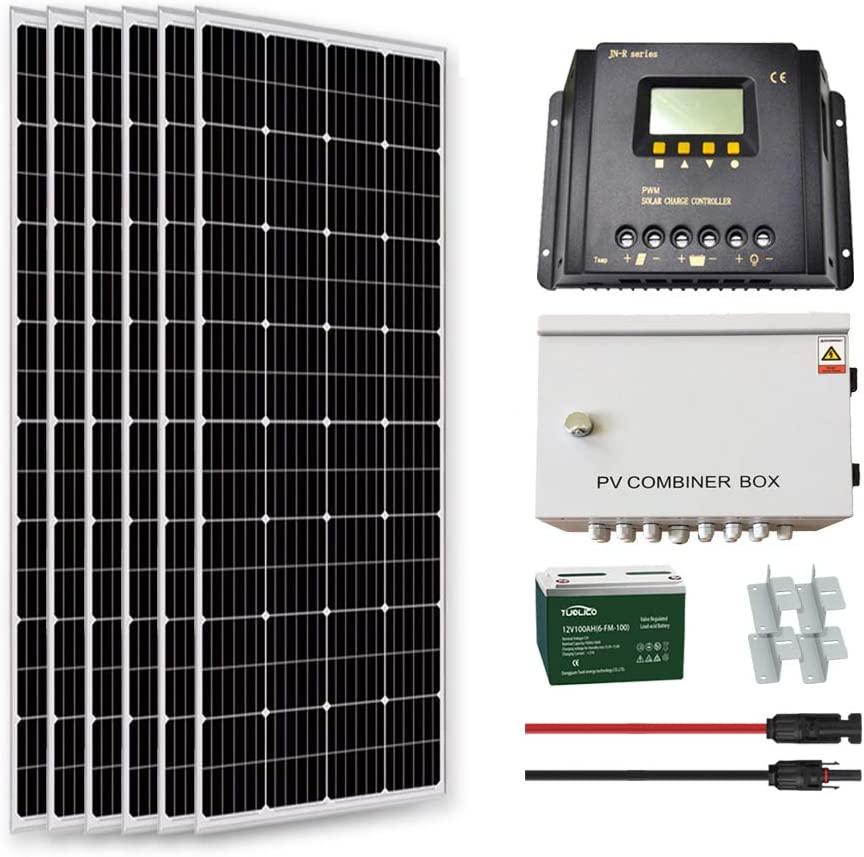 Goosun 1000-watt solar panel kit