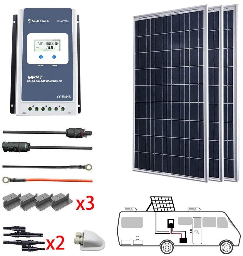 Acopower Polycrystalline Solar Panel Kit