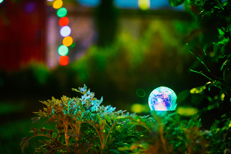 Colorful Solar Garden Lights for feature image