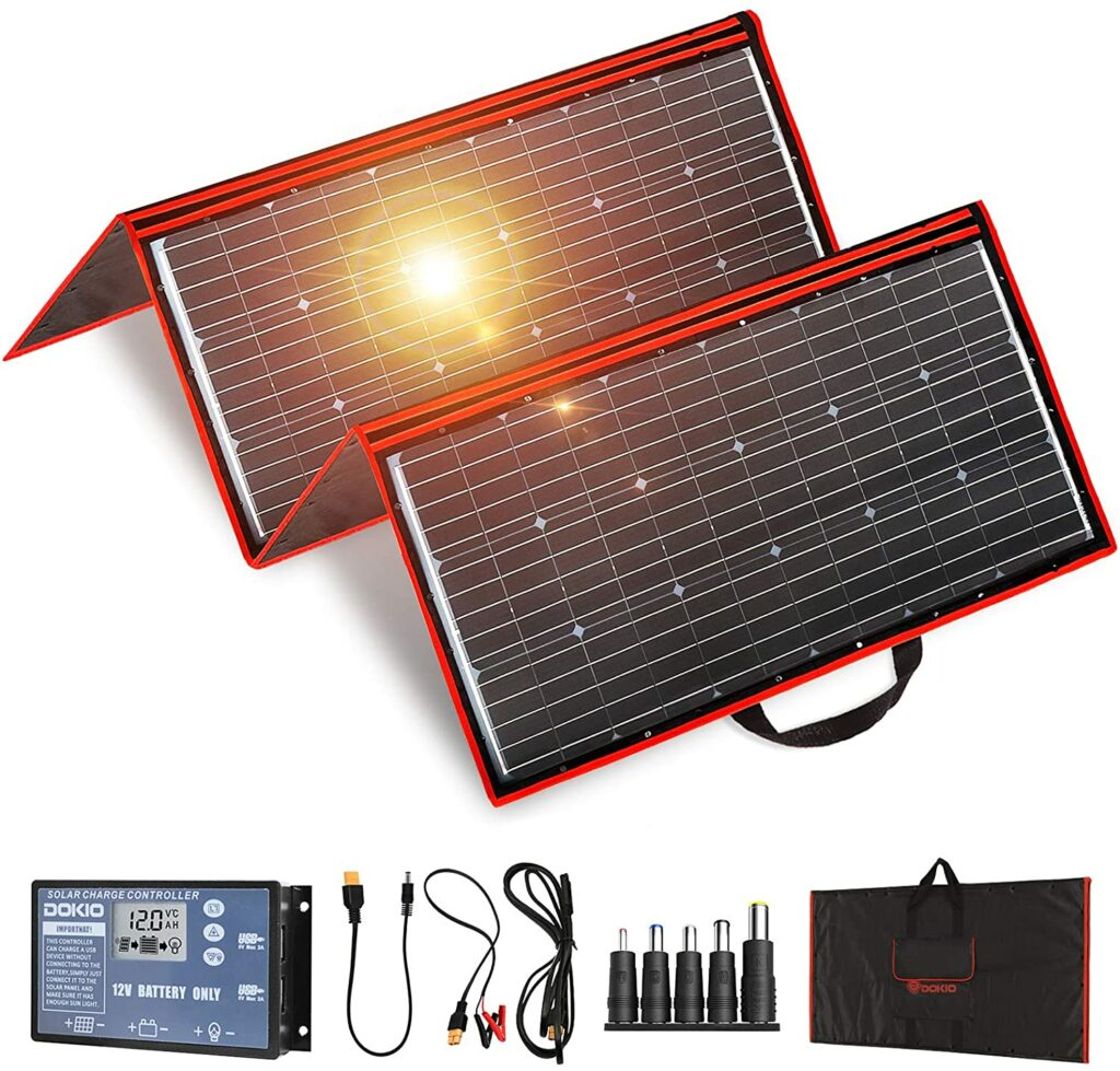 Dokio 300-Watt Solar Monocrystalline Panel