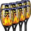 Tiki Flame Solar Garden Lights