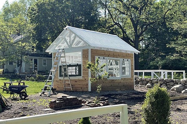 Greenhouse almost complete