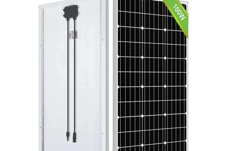 Eco-Worthy 100W Solar Panel