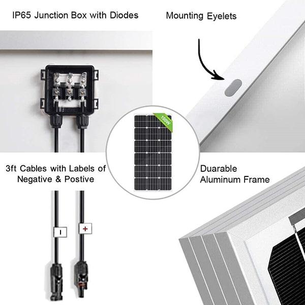 Eco-Worthy Solar Panel Components