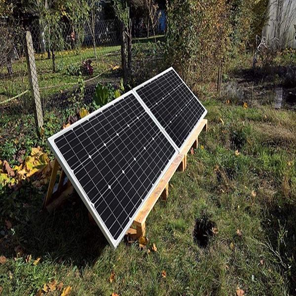 Eco-Worthy solar panel installation frame