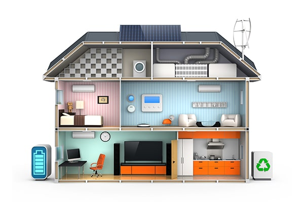 Multiple Uses for Solar Energy in a Home