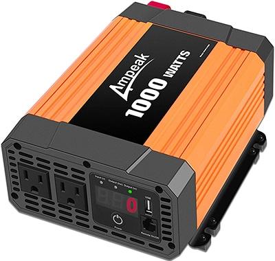 Ampeak 1100 Watt Modified Power Inverter