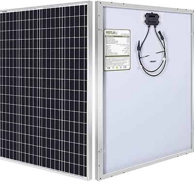 HQST 100 watt solar panel