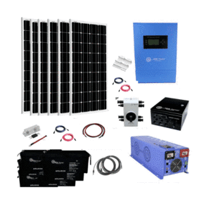 ShopSolarKits.com - Complete 1,200W [AGM] Off-Grid Solar System