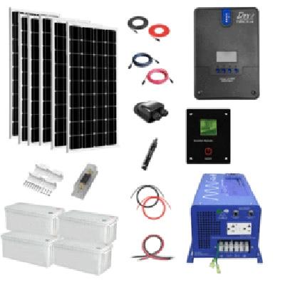 ShopSolarKits.com - Complete DIY 1,200-watt Solar System Kit